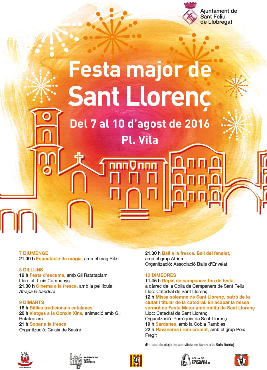 Festa Major - Sant Llorenç 2016