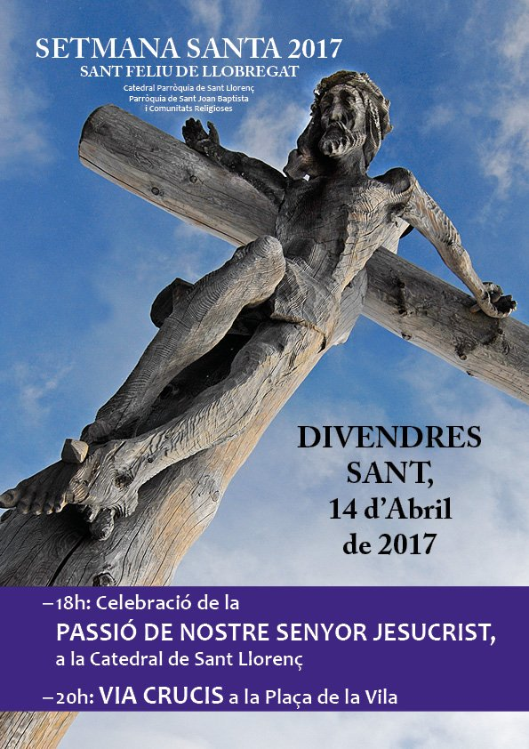 Cartell Divendres Sant 2017