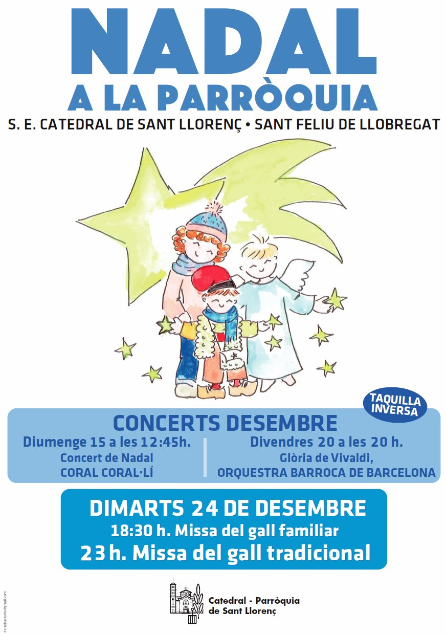 Cartell Concerts Nadal 2019